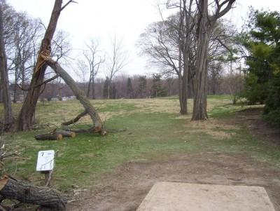 Belmont Park, Main course, Hole 7 Tee pad
