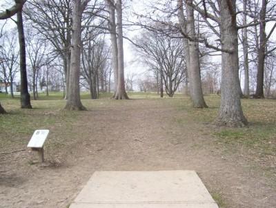 Belmont Park, Main course, Hole 8 Tee pad