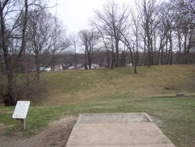 Belmont Park, Main course, Hole 9 Tee pad