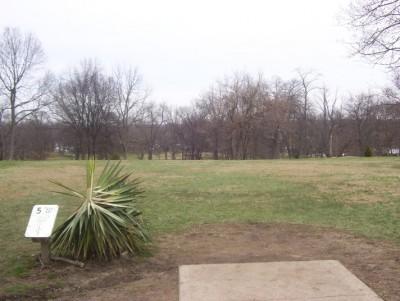 Belmont Park, Main course, Hole 5 Tee pad