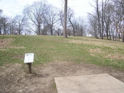 Belmont Park, Main course, Hole 10 Tee pad