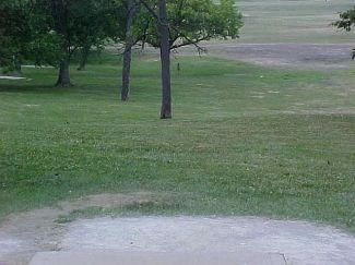 Belmont Park, Main course, Hole 18 Tee pad