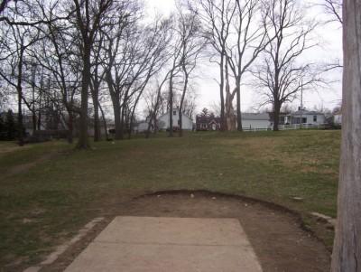 Belmont Park, Main course, Hole 6 Tee pad