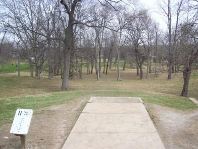 Belmont Park, Main course, Hole 11 Tee pad