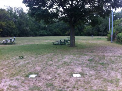 Water Works Park, Main course, Hole 1 Middle tee pad