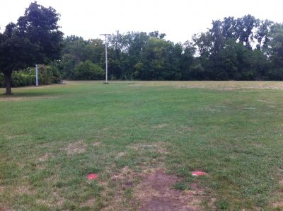Water Works Park, Main course, Hole 7 Short tee pad