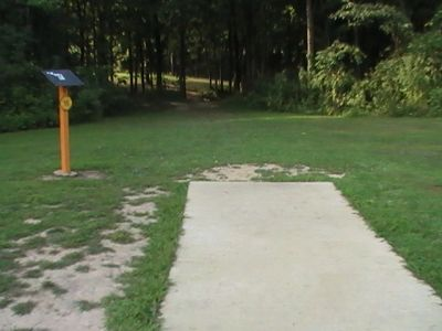 Gordon Holton Memorial, Main course, Hole 16 Short tee pad