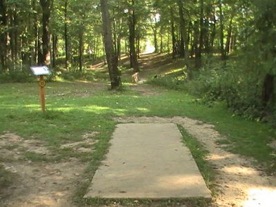 Gordon Holton Memorial, Main course, Hole 11 Short tee pad