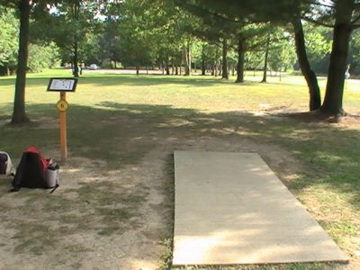 Gordon Holton Memorial, Main course, Hole 6 Short tee pad