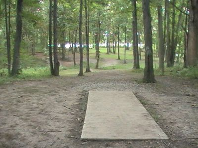 Gordon Holton Memorial, Main course, Hole 13 Short tee pad