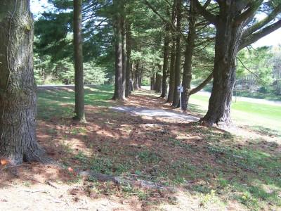 Deis Hill Park, Main course, Hole 17 Long tee pad
