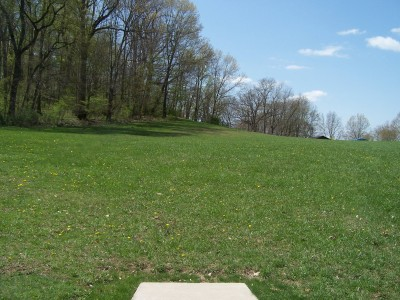 Deis Hill Park, Main course, Hole 15 Long tee pad