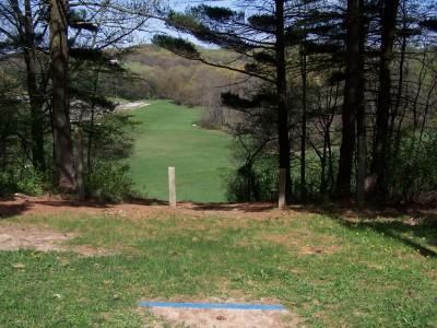 Deis Hill Park, Main course, Hole 14 Long tee pad