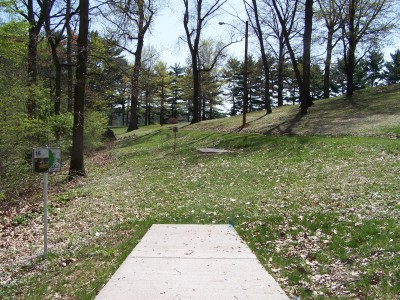 Deis Hill Park, Main course, Hole 16 Middle tee pad