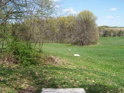 Deis Hill Park, Main course, Hole 14 Middle tee pad