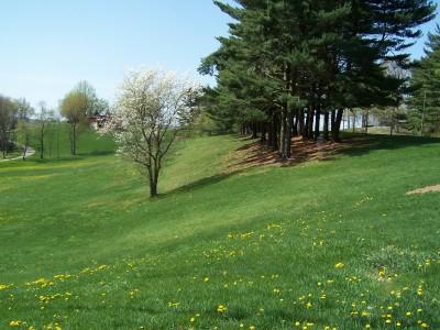 Deis Hill Park, Main course, Hole 18 Long tee pad