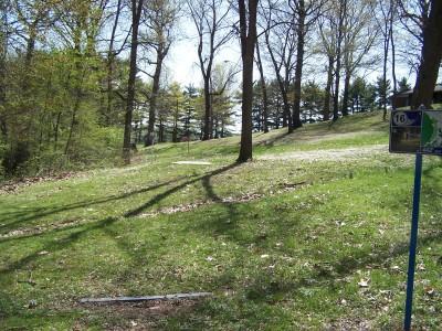 Deis Hill Park, Main course, Hole 16 Long tee pad