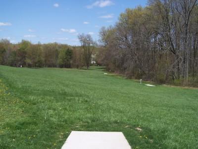 Deis Hill Park, Main course, Hole 11 Long tee pad