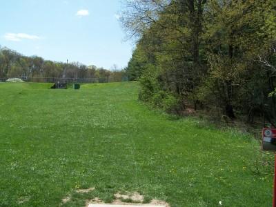 Deis Hill Park, Main course, Hole 9 Short tee pad