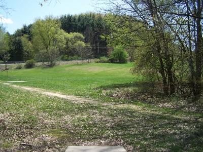 Deis Hill Park, Main course, Hole 12 Middle tee pad
