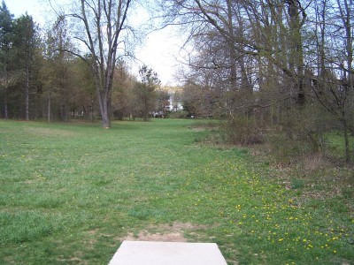 Deis Hill Park, Main course, Hole 11 Short tee pad