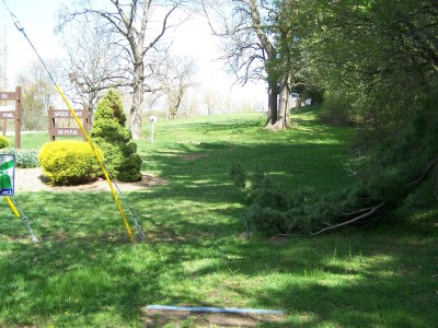 Deis Hill Park, Main course, Hole 3 Long tee pad