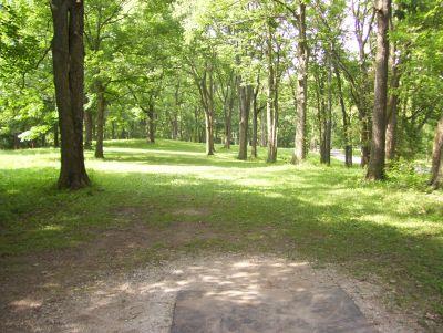 Englewood Metro Park, Main course, Hole 17 Tee pad