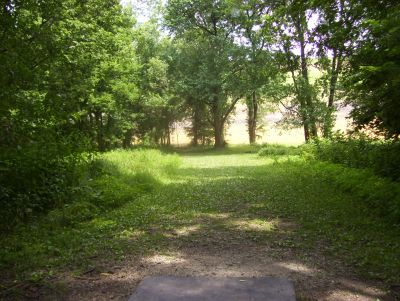 Englewood Metro Park, Main course, Hole 4 Tee pad