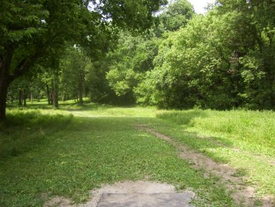 Englewood Metro Park, Main course, Hole 5 Tee pad