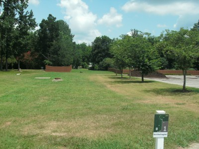Athens State University, Main course, Hole 1 Tee pad
