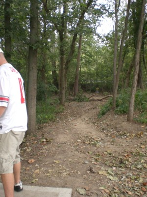 Twin Creek, Main course, Hole 1 Tee pad