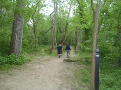 Twin Creek, Main course, Hole 10 Tee pad