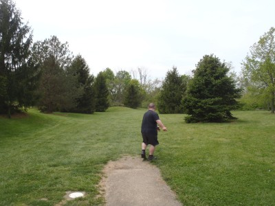 Miami Whitewater Forest, Main course, Hole 6 Tee pad