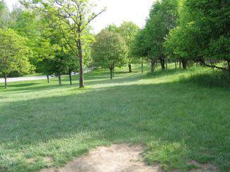 Hudson Springs Park, Main course, Hole 3 Tee pad