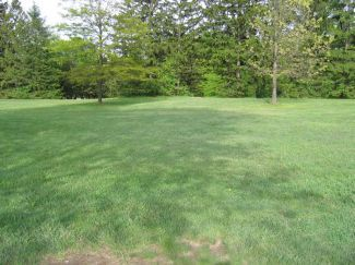 Hudson Springs Park, Main course, Hole 6 Tee pad