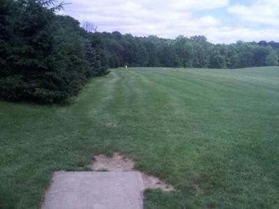 Hudson Springs Park, Main course, Hole 11 Tee pad