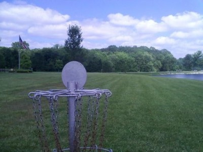 Hudson Springs Park, Main course, Hole 15 Reverse (back up the fairway)