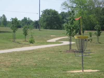 Athens Sportsplex, Main course, Hole 7 Reverse (back up the fairway)