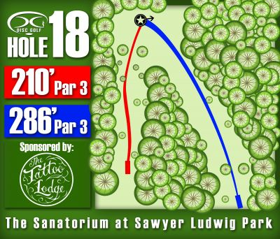 Sawyer Ludwig, Main course, Hole 18