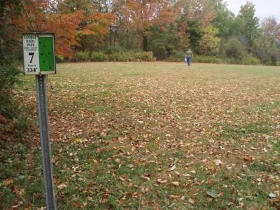 George Knox Park, Main course, Hole 7 Tee pad