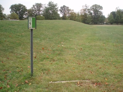 George Knox Park, Main course, Hole 9 Tee pad