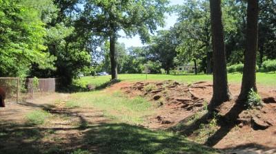 George Ward Park, Main course, Hole 17 Short approach