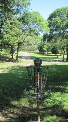 George Ward Park, Main course, Hole 8 Reverse (back up the fairway)