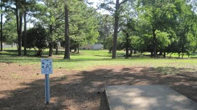 George Ward Park, Main course, Hole 3 Tee pad