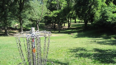 George Ward Park, Main course, Hole 9 Reverse (back up the fairway)