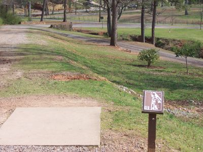 George Ward Park, Main course, Hole 13 Tee pad