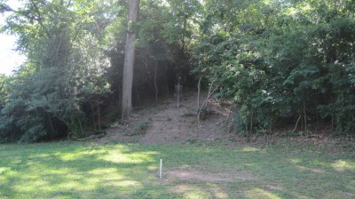 George Ward Park, Main course, Hole 5 Short approach