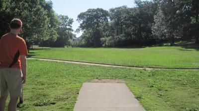 George Ward Park, Main course, Hole 5 Tee pad
