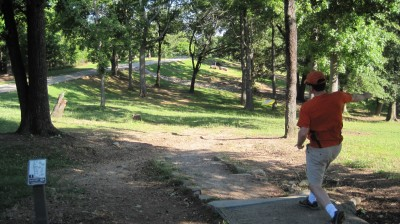 George Ward Park, Main course, Hole 1 Tee pad
