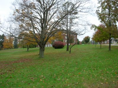 Muskingum College, Main course, Hole 3 Reverse (back up the fairway)